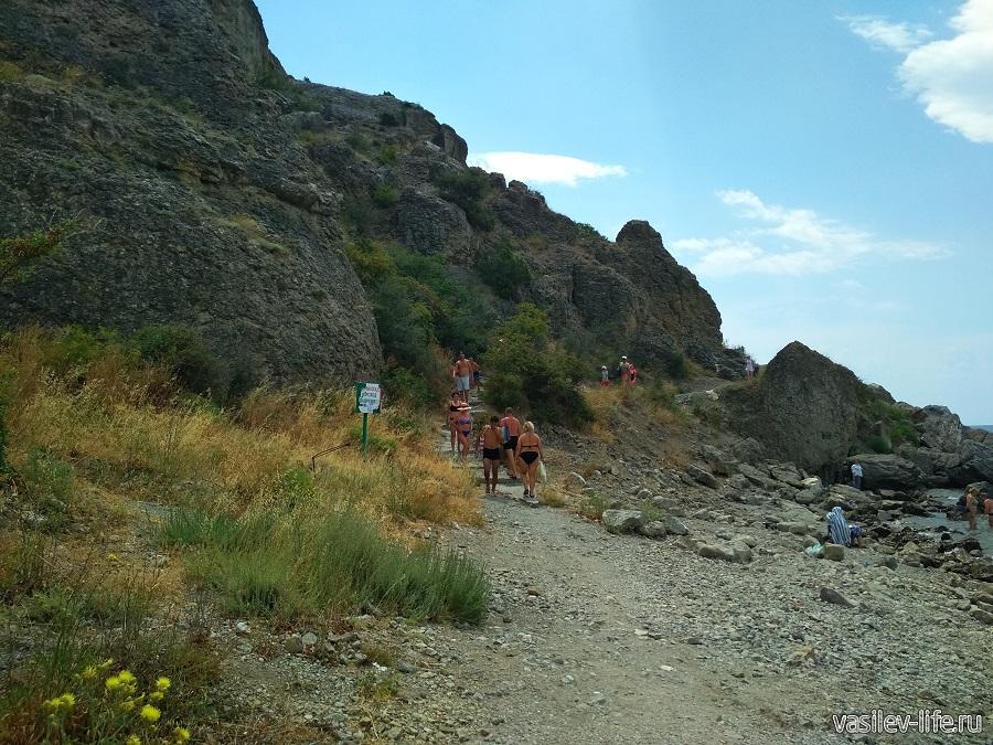 Гора и мыс Алчак-Кая в Судаке (тропа здоровья) (4)