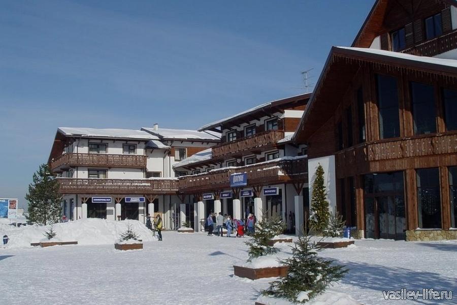 Горнолыжный курорт «Волен», отель