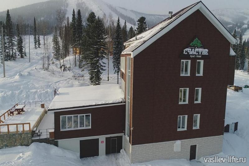 Горнолыжный курорт «Шерегеш», отель Счастье