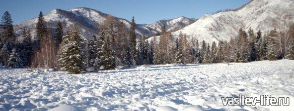 Горный Алтай зимой