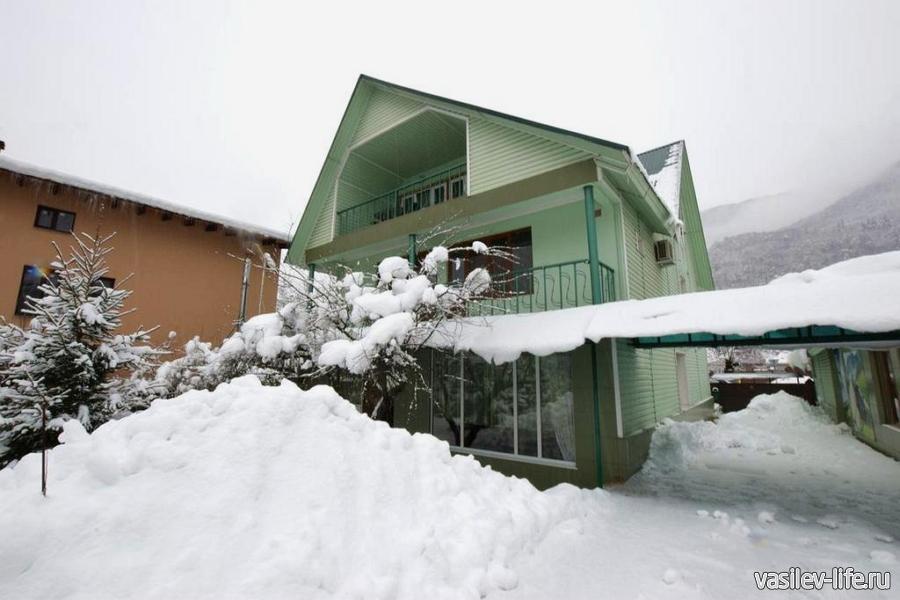 Гостевой дом «Зеленый дом», Красная Поляна