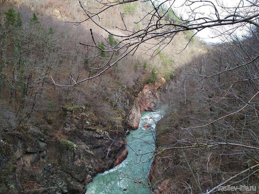 Гранитный каньон в Адыгее (13)