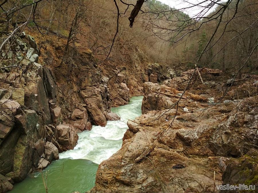 Гранитный каньон в Адыгее (6)