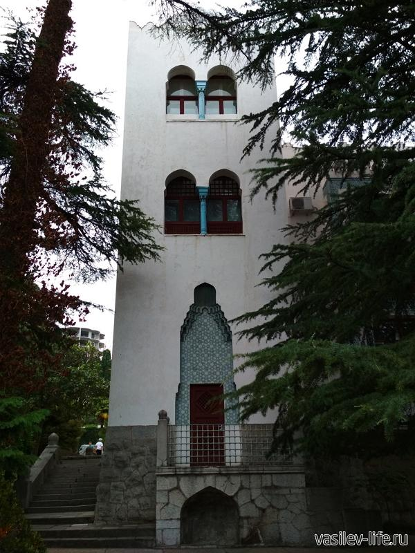 Дворец «Дюльбер» в Кореизе