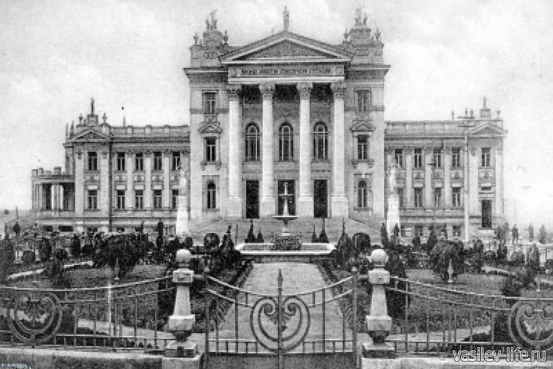 Дворец Детства и Юности (фото из архива)