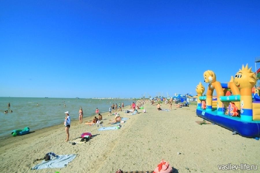 Детский пляж, Ейск