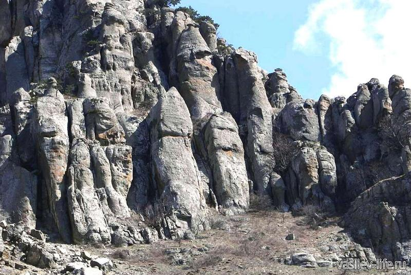 Долина Привидений, Крым, Алушта