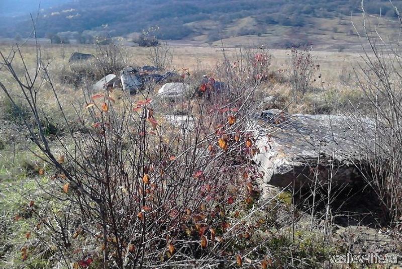 Дольмены Дегуакской долины 4