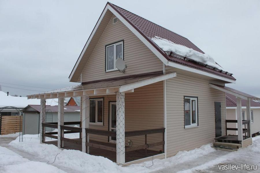 Дом «Сибирский стиль», Круглино