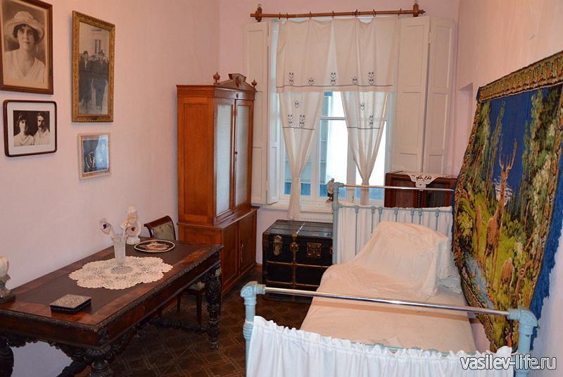 Дом-музей Сергеева-Ценского, Алушта (внутри)