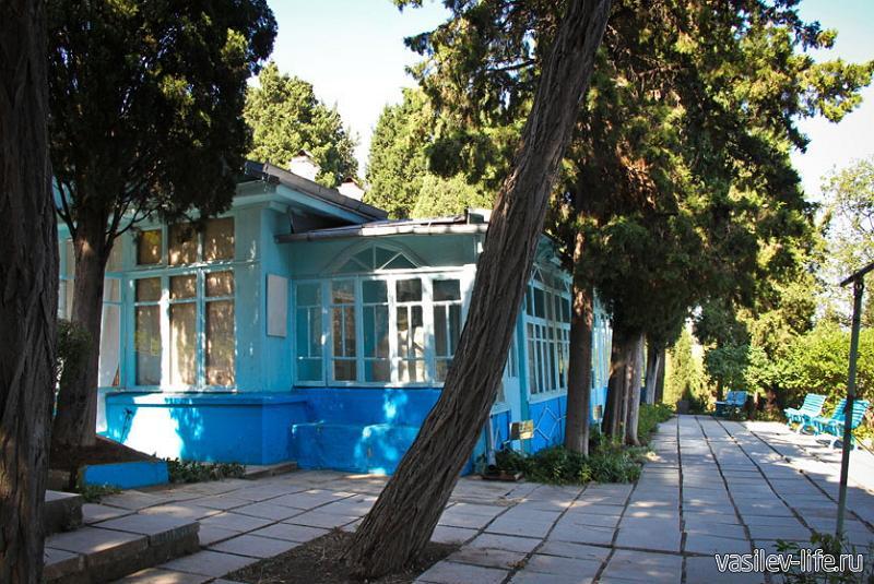 Дом-музей Сергеева-Ценского, Алушта