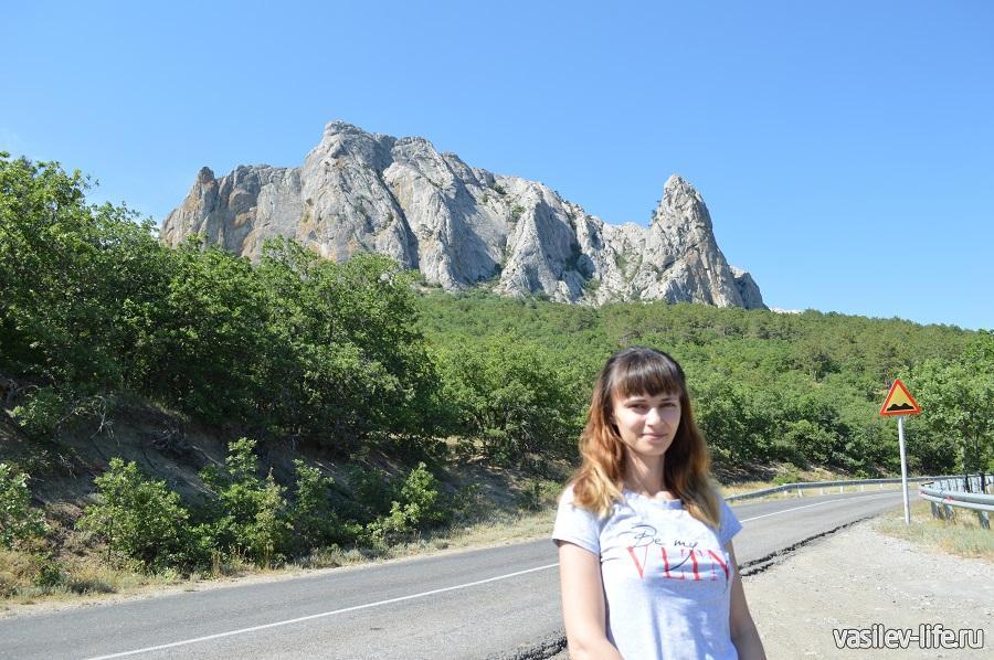 Дорога Судак — Коктебель (красивые виды)