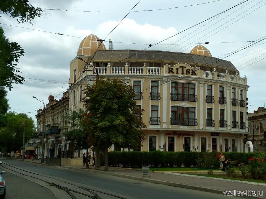Евпатория отель Ritsk
