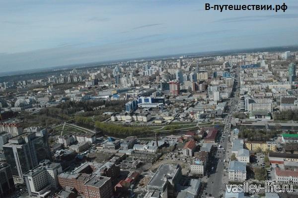Екатеринбург-вид-с-БЦ-Высоцкий