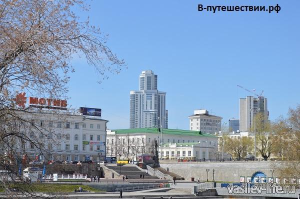 Екатеринбург, площадь 1905 года
