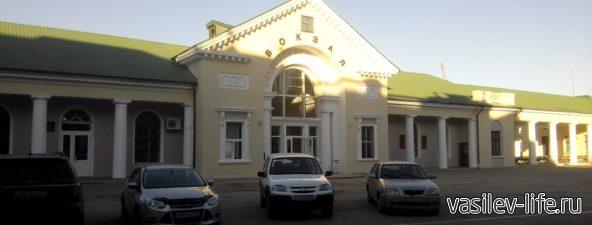 Вокзал в Феодосии