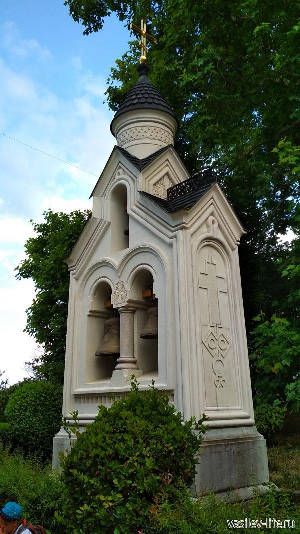 Звоница Крестовоздвиженской церкви