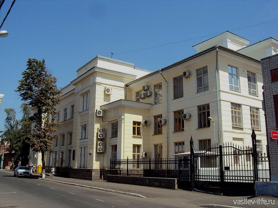Здание почтово-телеграфной и телефонной конторы в Краснодаре