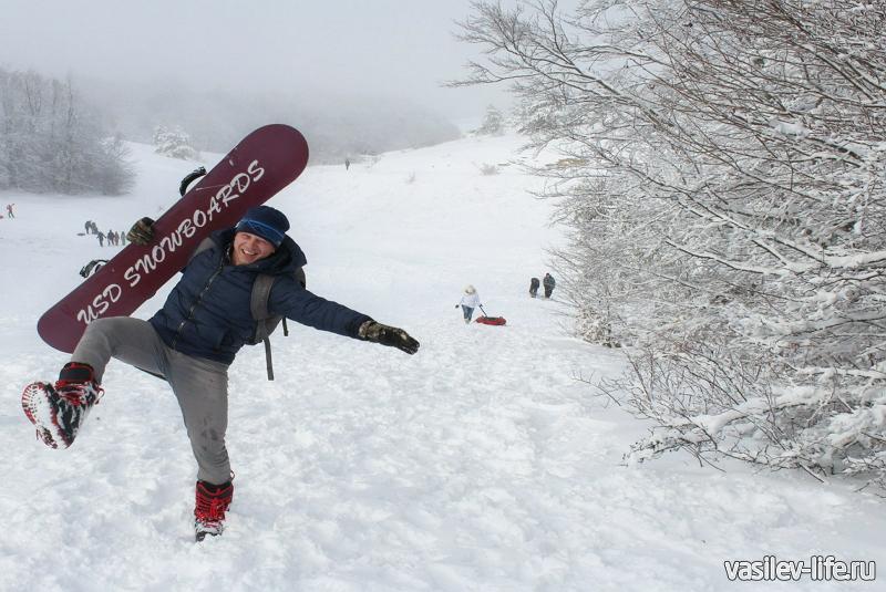 Зимой на Ай-Петри из Симферополя