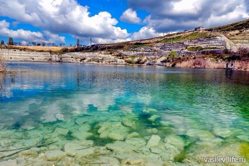 Инкерманское озеро в Севастополе 1