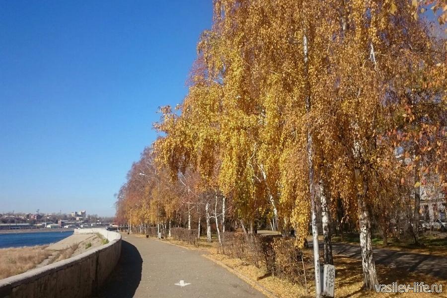Иркутск в октябре