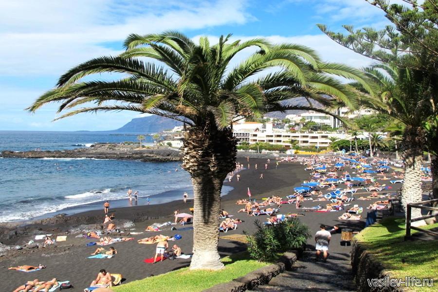 Испания в августе, Тенерифе