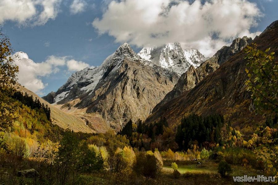 Кавказские горы в ноябре