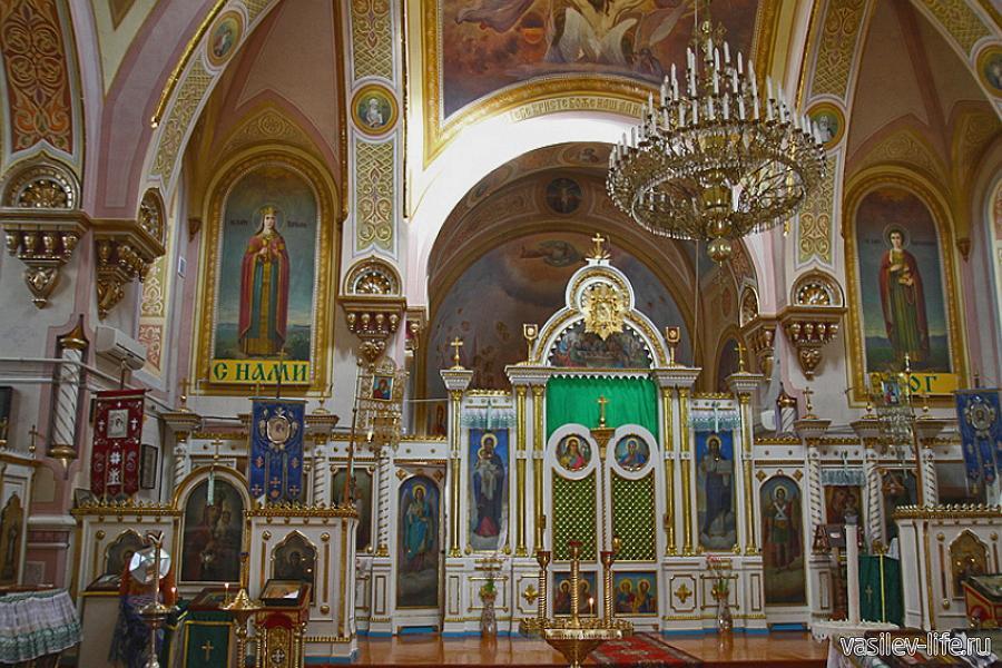 Казанский собор внутри