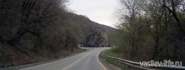 По дороге к Казачему Камню