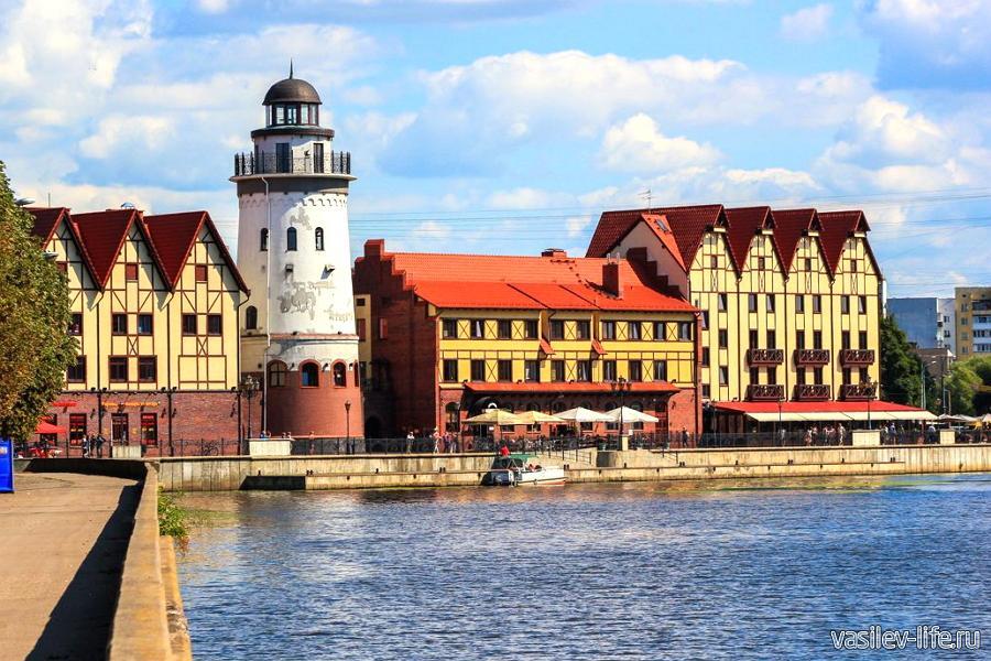 Калининград в июне