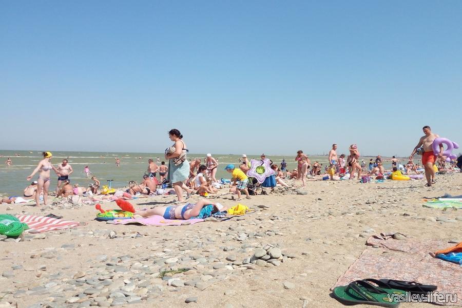 Каменка пляж, Ейск