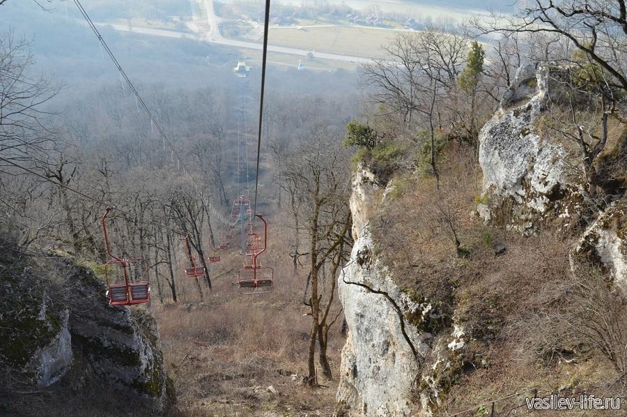 Канатная дорога на гору Уна-Коз в Даховской (Адыгея) (10)