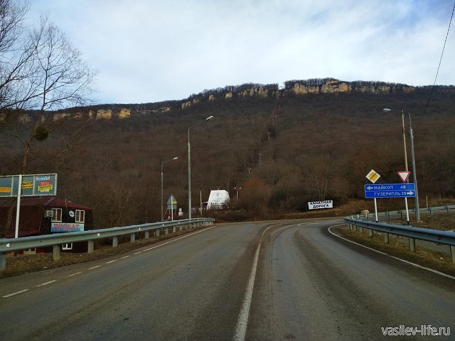 Канатная дорога на гору Уна-Коз в Даховской (Адыгея) (11)