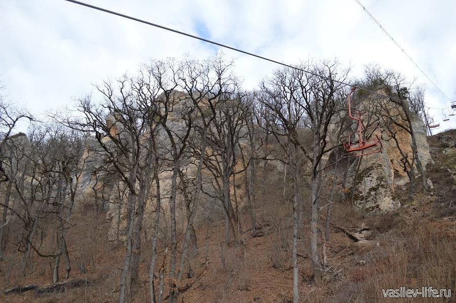 Канатная дорога на гору Уна-Коз в Даховской (Адыгея) (7)