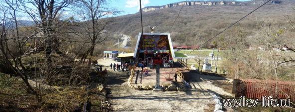 Канатная дорога на гору Уна-Коз