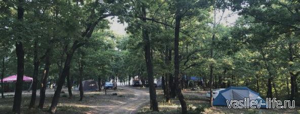 Кемпинг «Горизонт» в Лермонтово