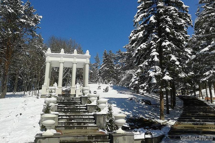 Кисловодск в январе
