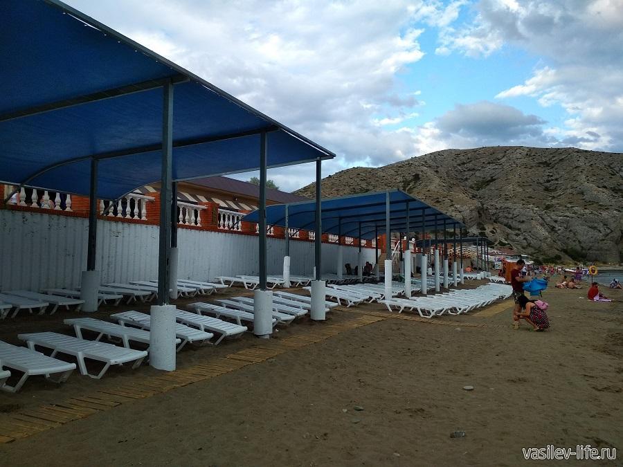 Колхозный пляж в Судаке (11)
