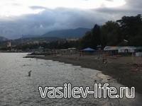 Королевский пляж, Алушта