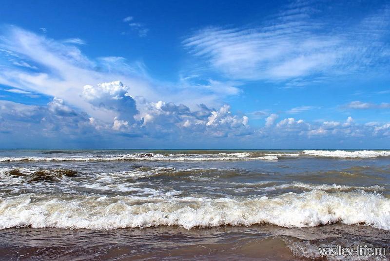 Краснодарский край, море, осень