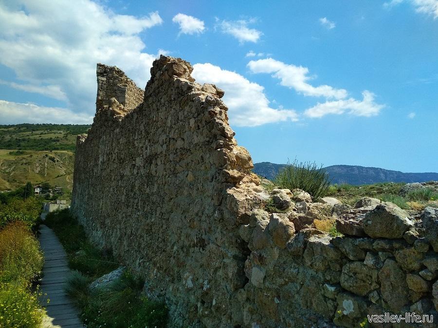 Крепость «Чембало» в Балаклаве (12)