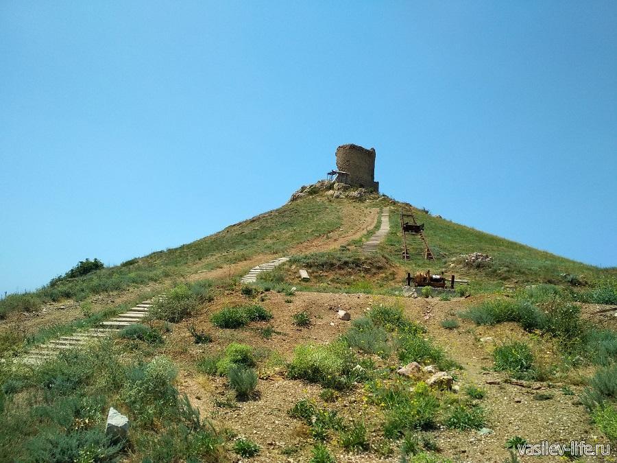 Крепость «Чембало» в Балаклаве (15)