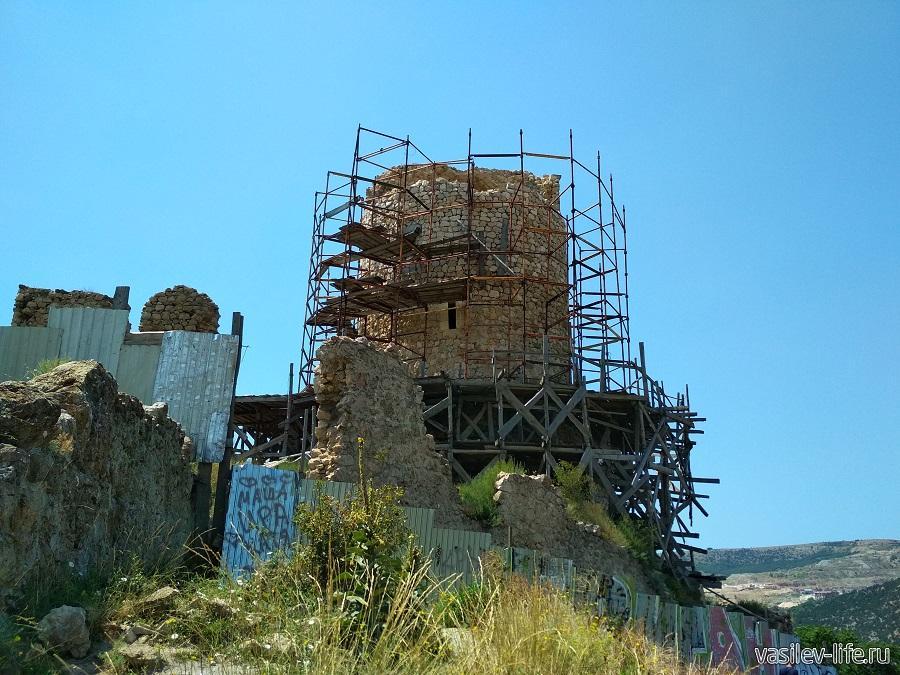 Крепость «Чембало» в Балаклаве (4)