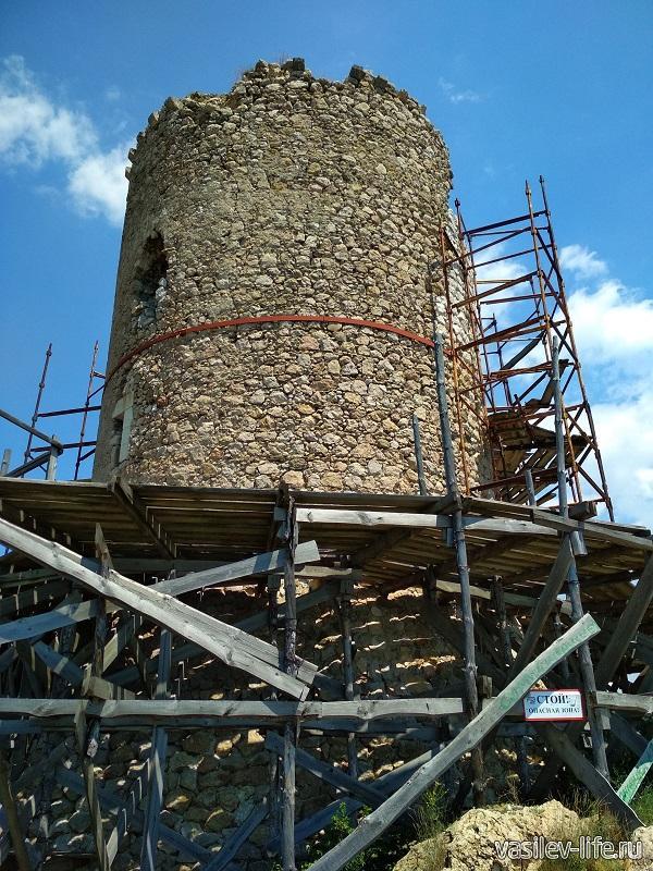 Крепость «Чембало» в Балаклаве (6)