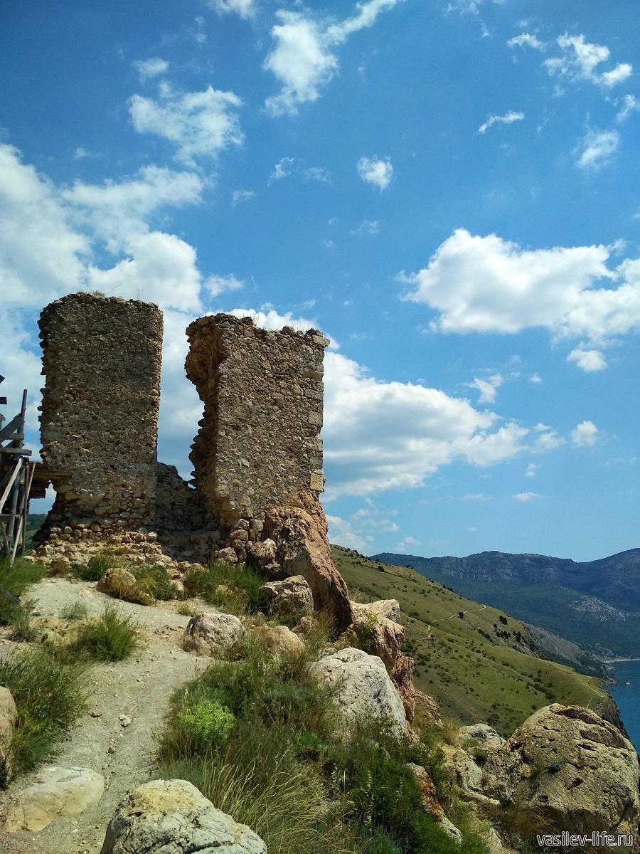 Крепость «Чембало» в Балаклаве (7)