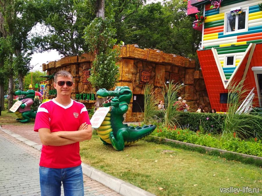 Крокодиловая ферма в Евпатории