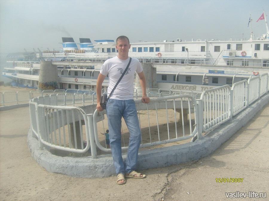 Речной порт в Самаре