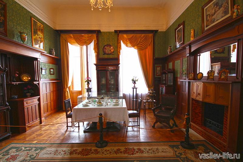 Ливадийский дворец, Ялта (внутри)