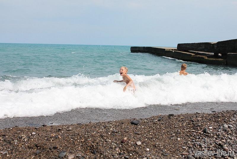 Ливадийский пляж