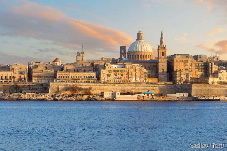 Мальта в августе, Валетта